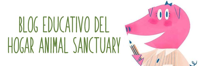 Web de educación de la Fundación El Hogar Animal Sanctuary